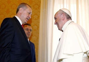 Erdogan e Papa Francesco