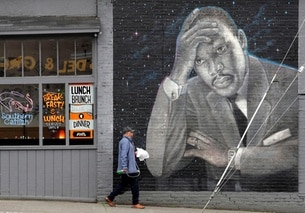 murales di martin luther king