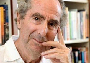 Primo piano di Philip Roth